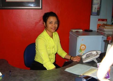 Dominique Rodrigues - Receptionist
